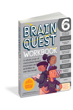 Workman Publishing Brain Quest Workbook Grade 6 - Product List Image