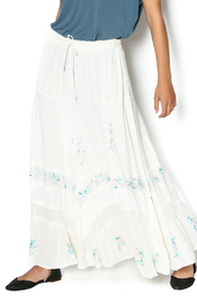 Braja Embroidered White Skirt - Product Mini Image