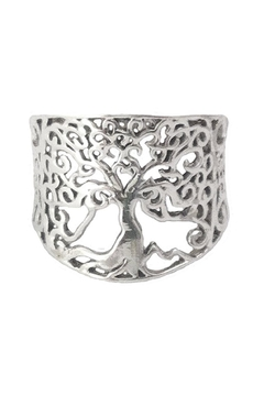 Braja Silver Tree Ring - Product List Image