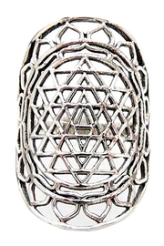 Braja Sri Yantra Ring - Product Mini Image