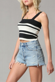 By Together Brami Knit Crop Top - Product Mini Image