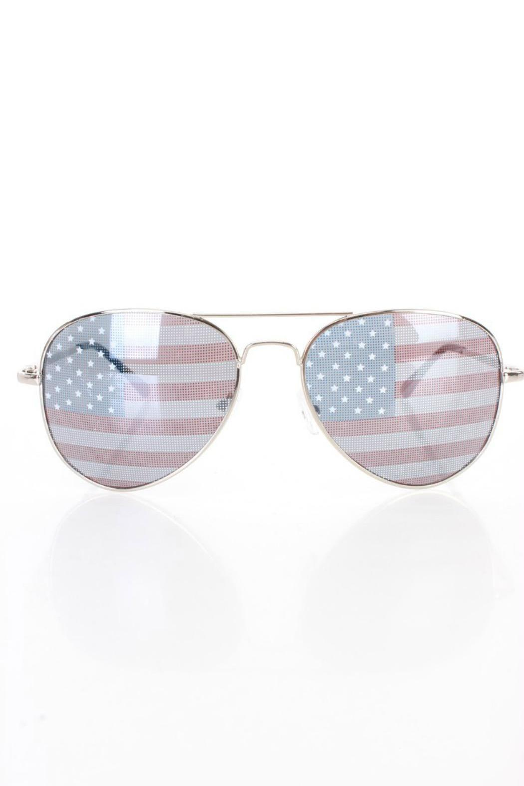 a15d29117be BRANDED American Flag Aviators from San Diego — Shoptiques