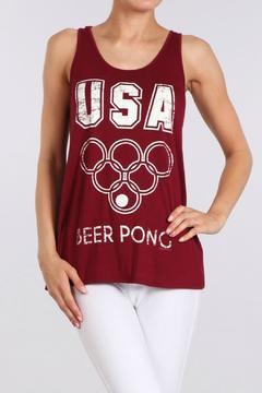 BRANDED Beer Pong Tank - Product List Image