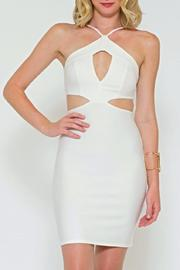 Sole Mio Cutout Bodycon Dress - Front cropped
