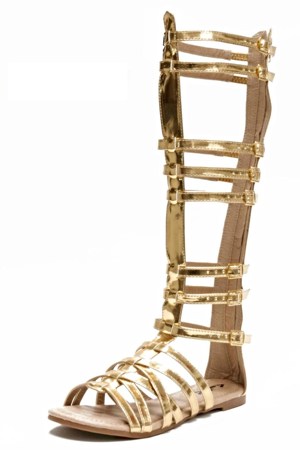e086db51508ab BRANDED Knee-High Gladiator Sandals from San Diego — Shoptiques