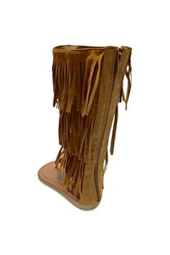 Forever Suede Fringe Sandals - Alternate List Image