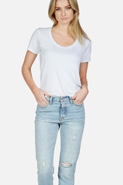 Michael Lauren Brandon Scoop Neck - Front cropped