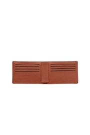 Carré Royal Brandy Wallet - Front full body