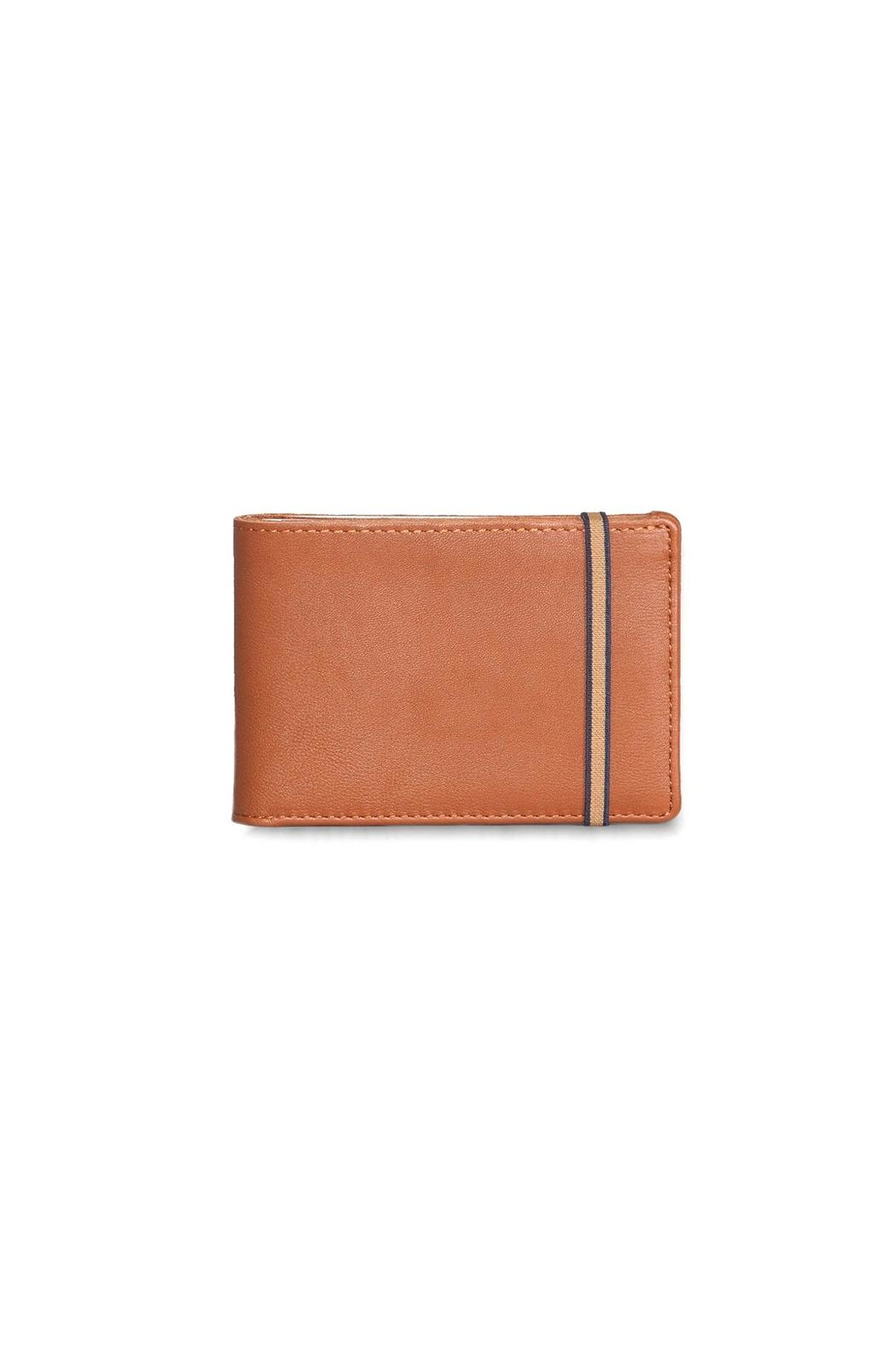 Carré Royal Brandy Wallet - Front Cropped Image