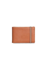 Carré Royal Brandy Wallet - Front cropped