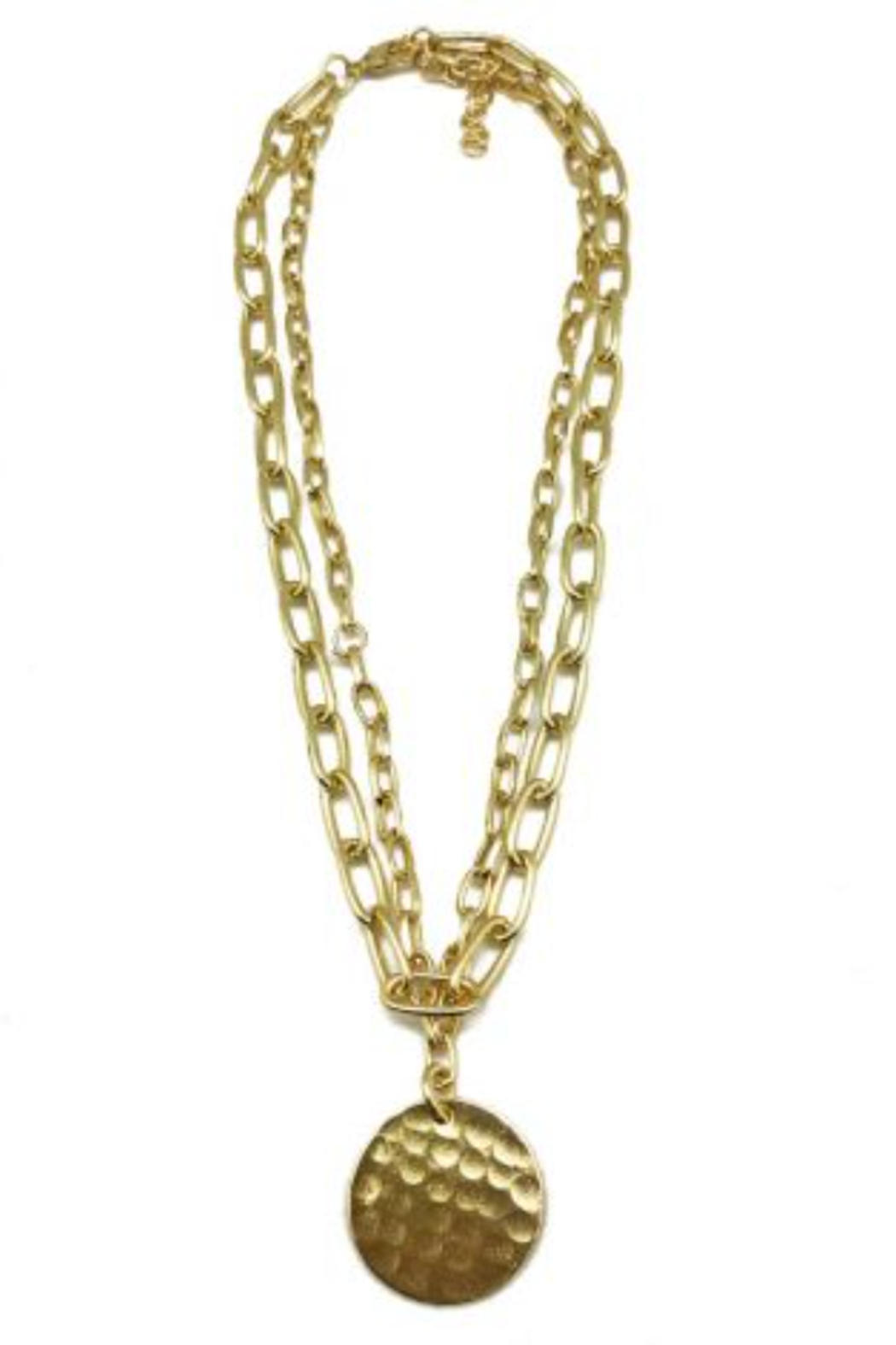 Anju BRASS CHAINLINK NECKLACE - Main Image