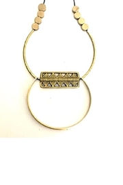 Boho Gal Brass Dali Necklace - Product Mini Image