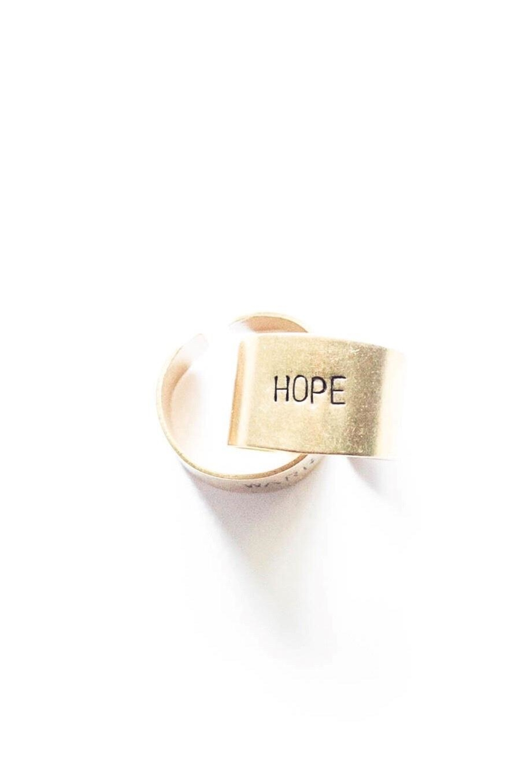 The Vintage Sparrow Brass Hope Ring - Main Image