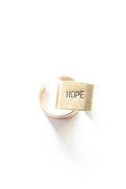 The Vintage Sparrow Brass Hope Ring - Product Mini Image