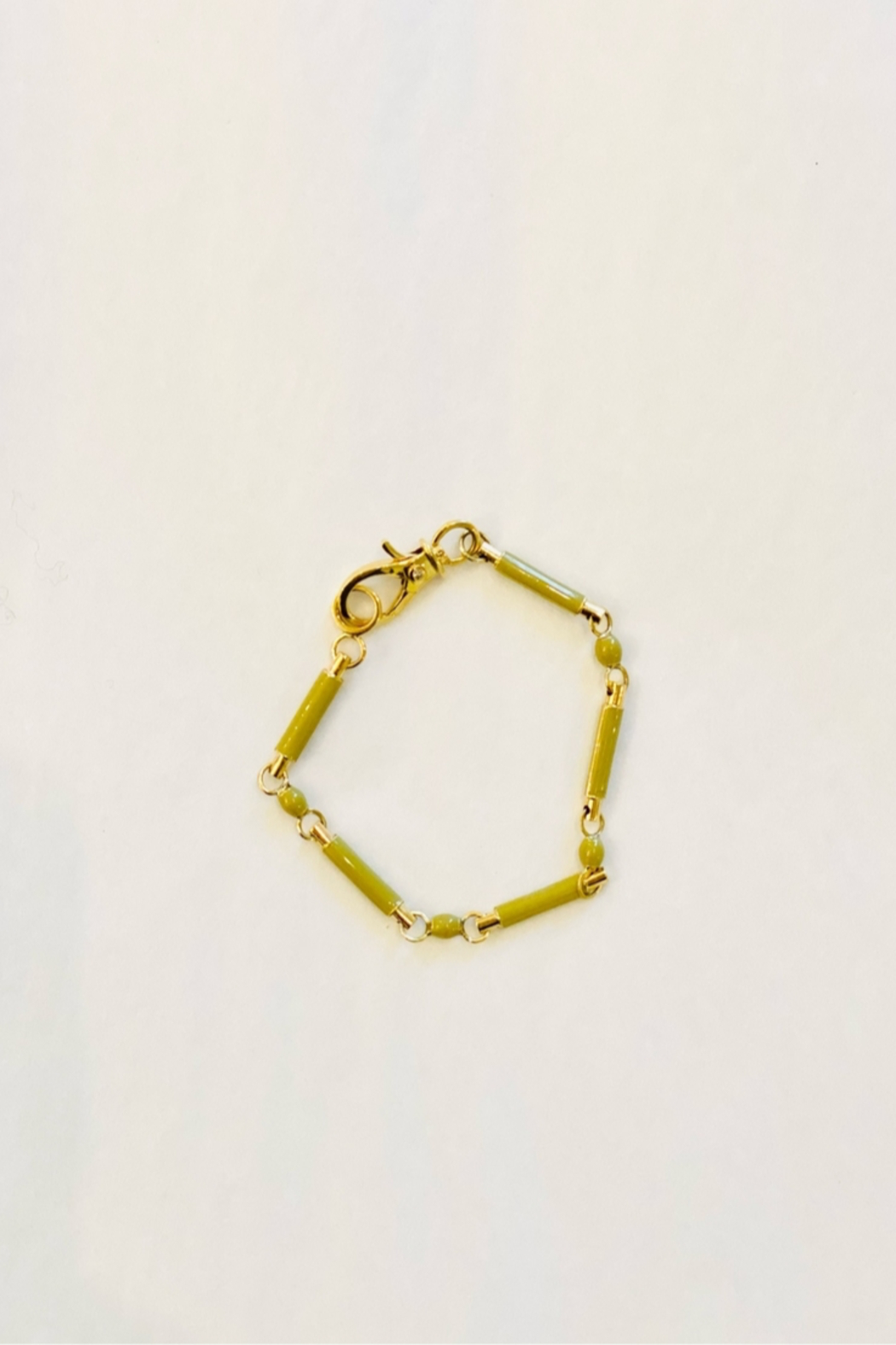 The Woods Fine Jewelry  Brass Link Chain Bracelet - Front Full Image