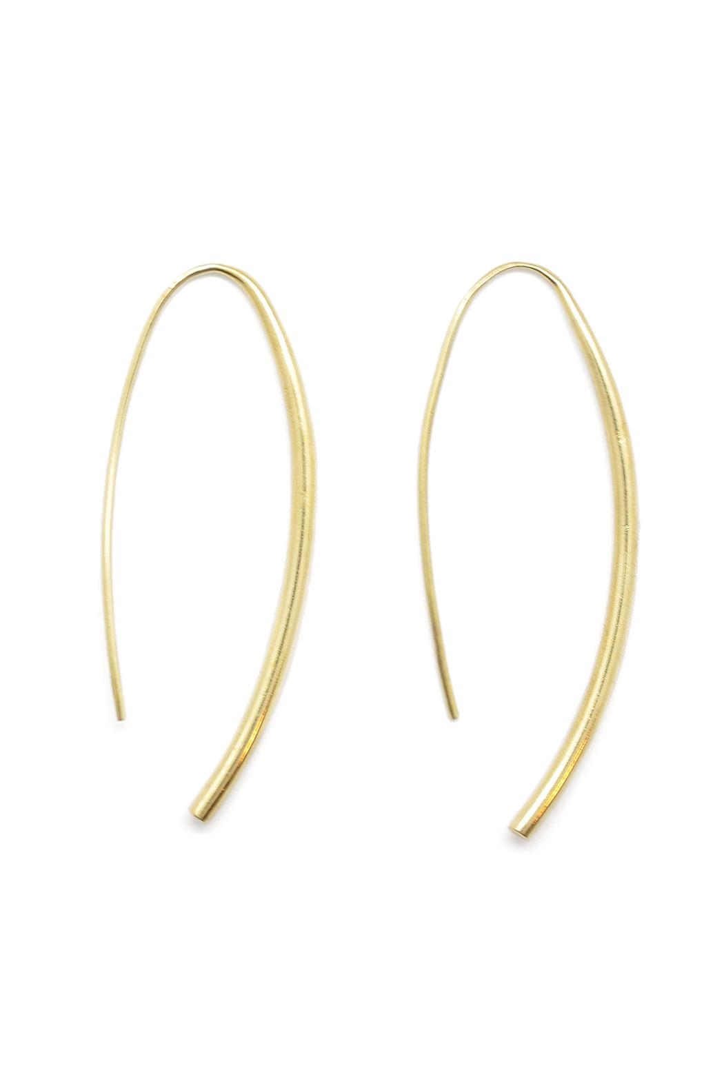 SOKO Brass Wire Earrings - Front Cropped Image