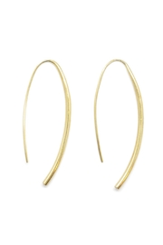 SOKO Brass Wire Earrings - Front cropped