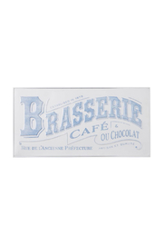 RAZ Imports Brasserie Wall Art - Product Mini Image