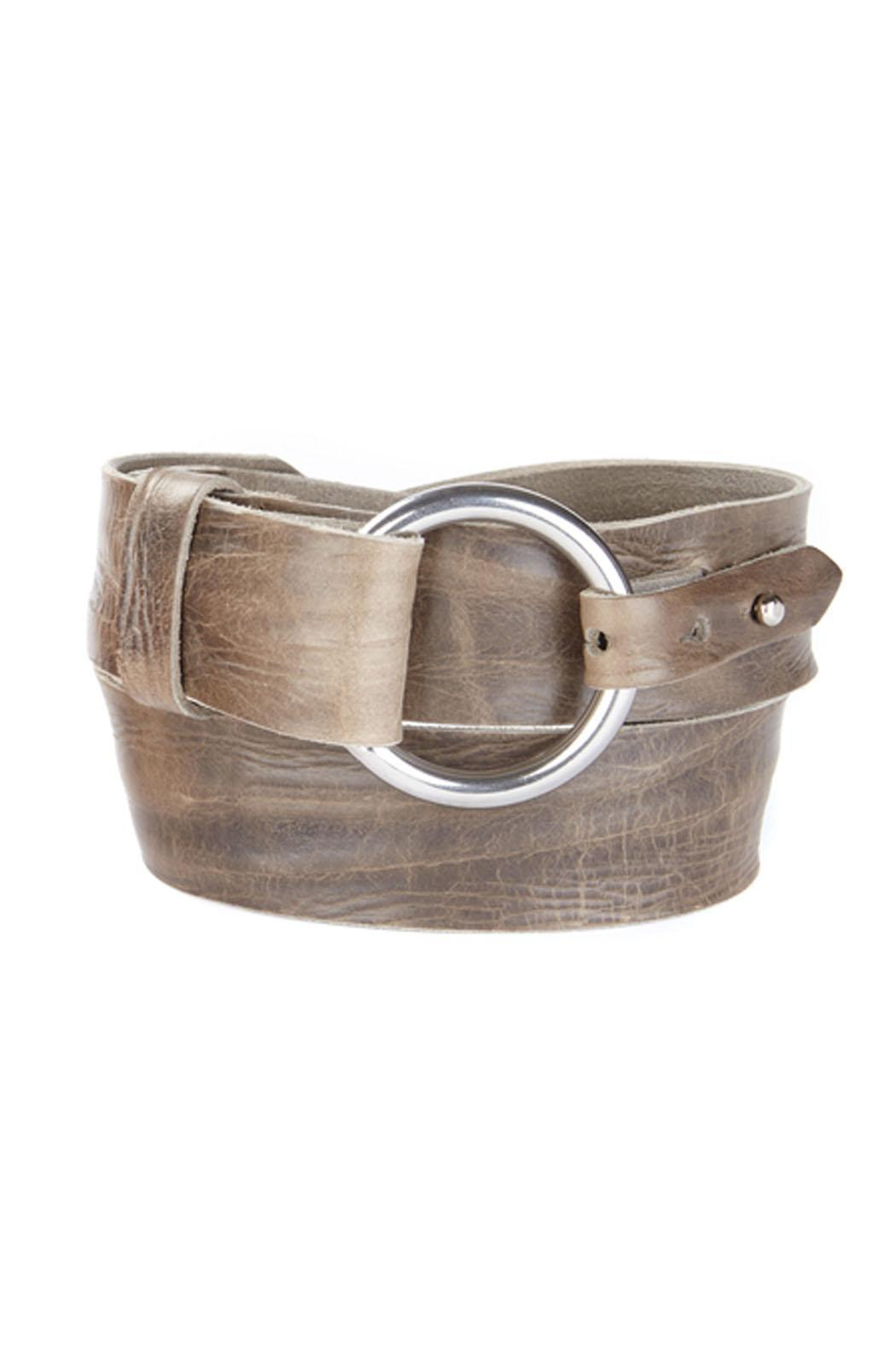 brave leather maeron leather belt from san francisco by