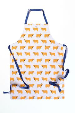 BRAW SCOTLAND Highland Cow Apron - Product List Image