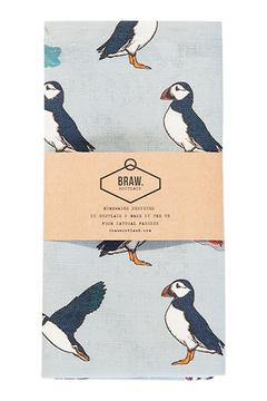 BRAW SCOTLAND Puffin Teatowel - Product List Image