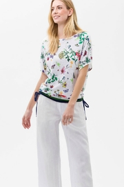 Brax Multi Floral Top - Front cropped