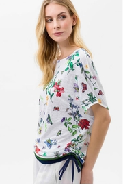 Brax Multi Floral Top - Front full body