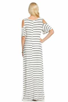 Shoptiques Product: Cold-Shoulder Maxi Dress