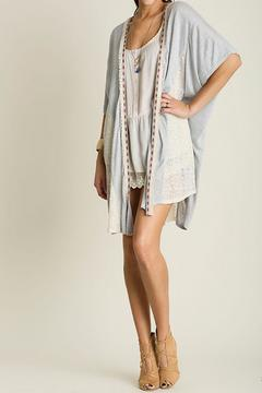 Shoptiques Product: Lace Detail Cardigan