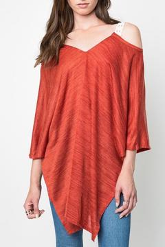 Shoptiques Product: Crochet Strap Tunic