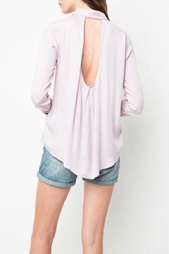 Shoptiques Product: Cutout Collared Shirt