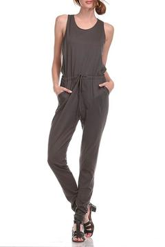 Shoptiques Product: Drawstring Waist Jumpsuit