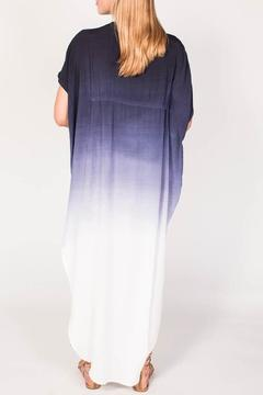 Shoptiques Product: Navy Ombre Dress