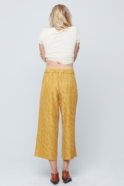 Knot Sisters Brea Pant Mustard - Side cropped