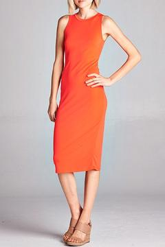 Shoptiques Product: Solid Bodycon Dress