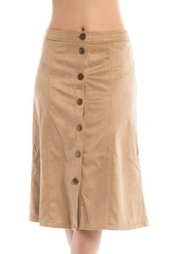 Brea Suede A-Line Skirt - Product List Image