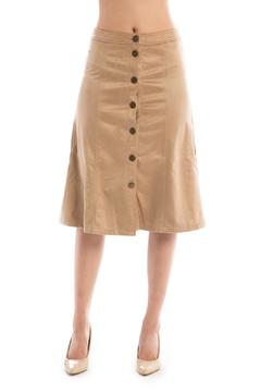 Brea Suede A-Line Skirt - Alternate List Image
