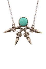Break A Stone Amazonite Unity Necklace - Front full body