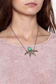Break A Stone Amazonite Unity Necklace - Back cropped