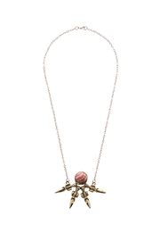 Break A Stone Rhodochrosite Unity Necklace - Product Mini Image
