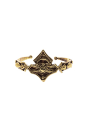 BreakAStone Brass Morocco Cuff - Product Mini Image