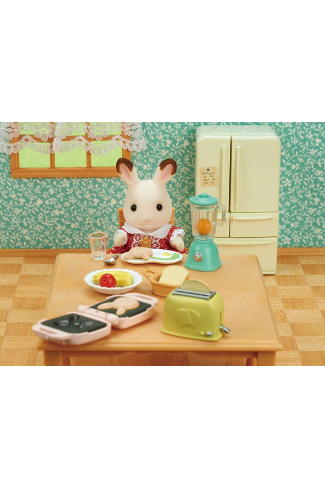 Calico Critters Breakfast Playset - Front Full Image