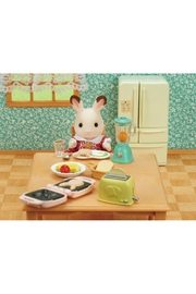 Calico Critters Breakfast Playset - Front full body