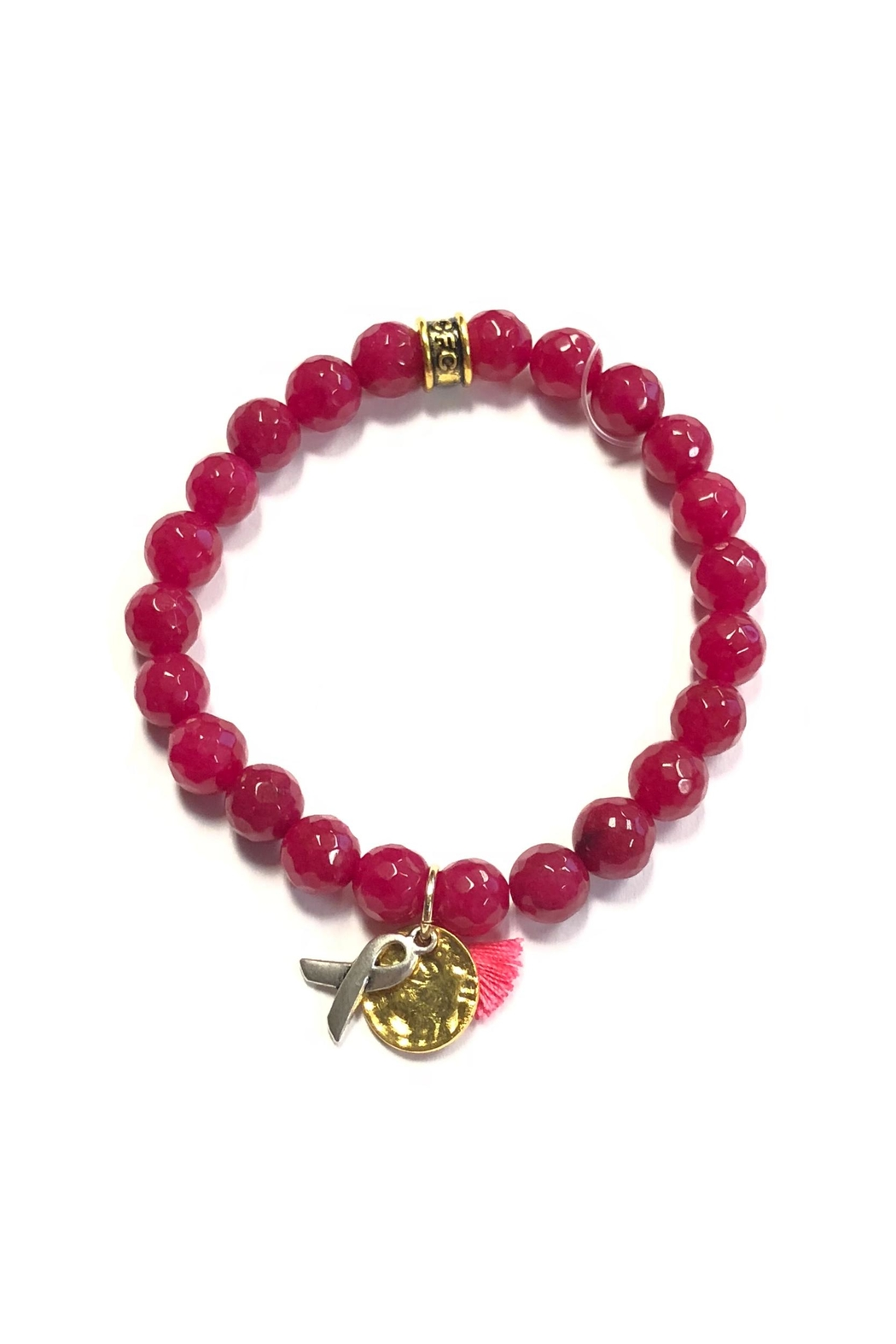 Chavez for Charity Breast-Cancer Ribbon Bracelet - Main Image