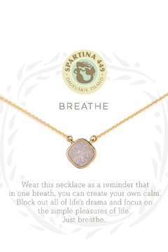 Spartina 449 Breathe Drusy Necklace - Product List Image