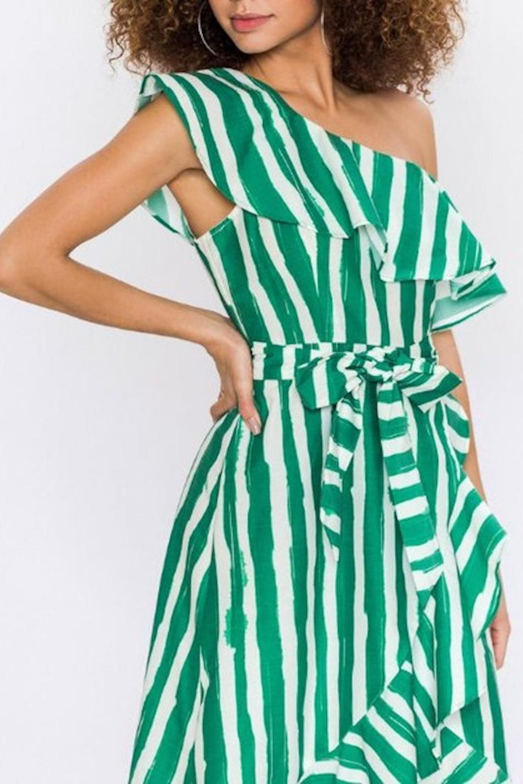 23c63f10b6 Flying Tomato Breathtaking Kelly-Green Dress from Los Angeles by ...