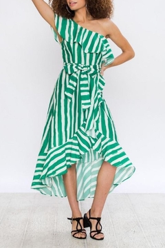 Flying Tomato Breathtaking Kelly-Green Dress - Product List Image