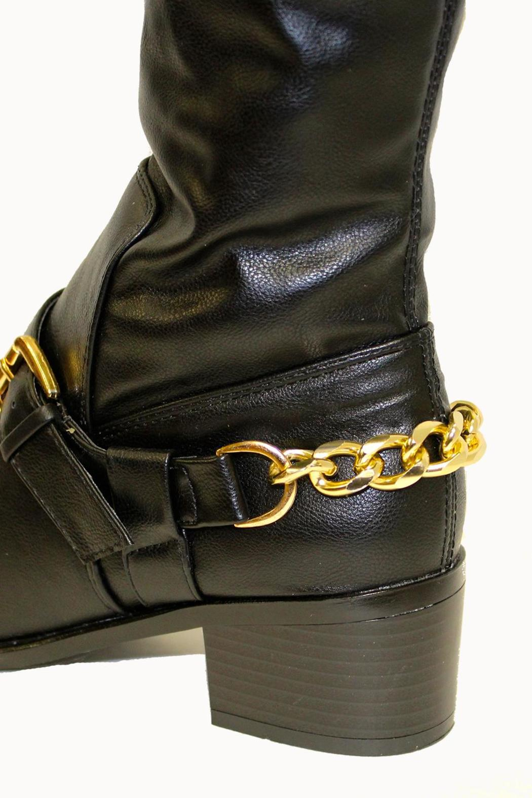 Breckelle's Capital Boot Black - Side Cropped Image