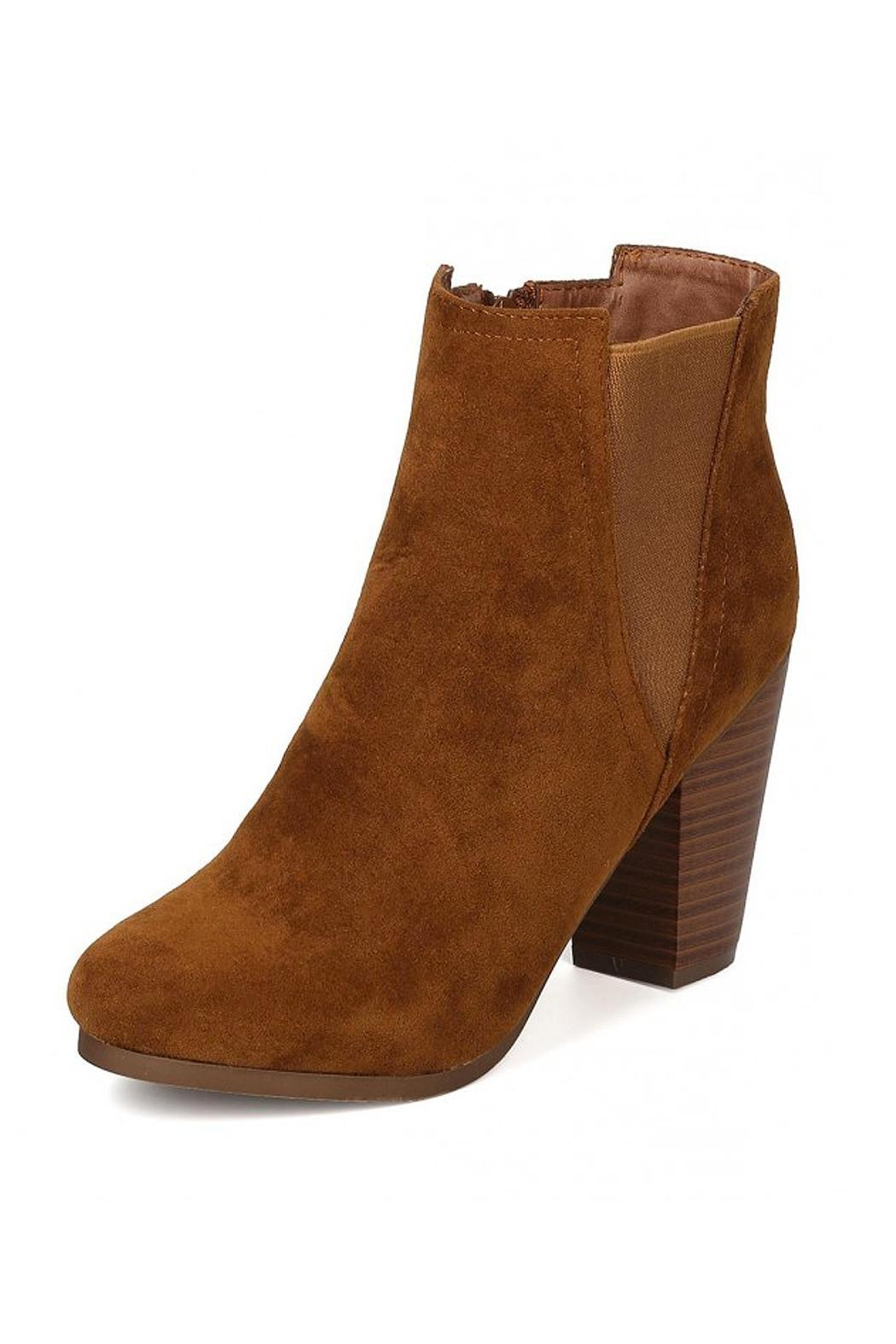 Breckelle's Gail Bootie - Front Cropped Image