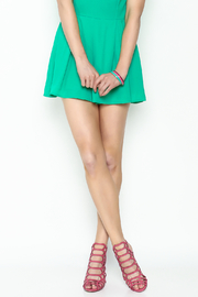 Breckelle's Hot Pink Sandal - Front cropped
